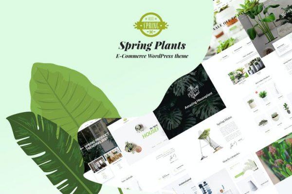 Spring Plants -  Bahçe ve Ev Bitkileri WordPress