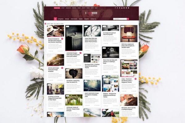 Wine Personal -  Yaratıcı Blog / Haber Temasısı