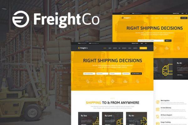 FreightCo Teması