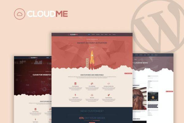 Cloudme Host -  WordPress Barındırma Temasısı