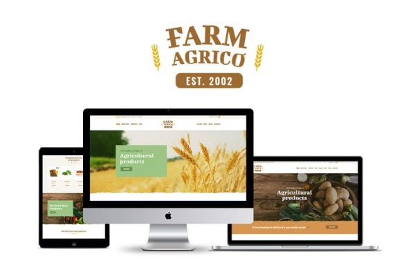 Farm Agrico -  Tarımsal İş WP Temasısı