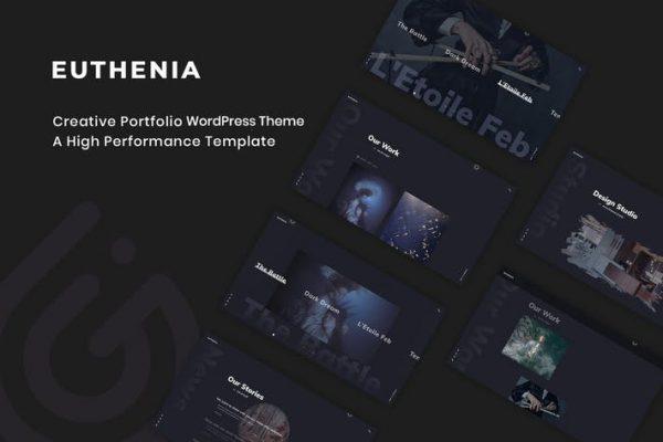 Euthenia -  Yaratıcı Portföy WordPress Temasısı