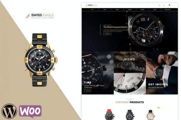 Swiss Eagle - WooCommerce Dükkanı Temasısı