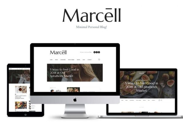 Marcell -  Kişisel Blog ve Dergi WordPress Temasısı