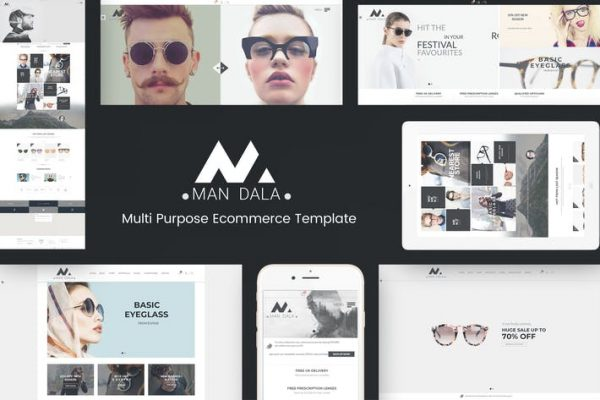 Mandala -  Duyarlı E-ticaret WordPress Temasısı