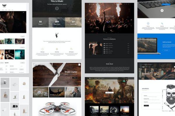 Khaki - Amaç WordPress Temasısı