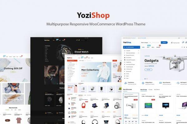 Yozi - Elektronik WooCommerce WordPress Temasısı
