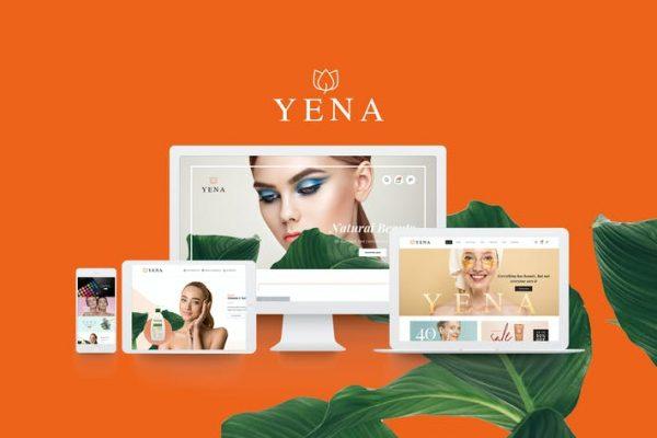 Yena -  Güzellik ve Kozmetik WooCommerce Temasısı