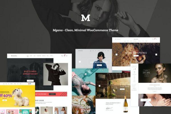 Mgana -  Temiz, Minimal WooCommerce Temasısı