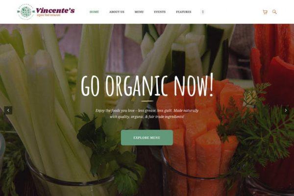 Vincente's - Organik Gıda Restoranı ve Eko Cafe WP
