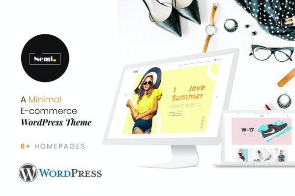 Nemi - Çoklu Mağaza Duyarlı WordPress Temasısı