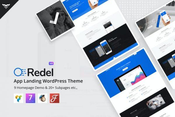 Redel -  Duyarlı Uygulama Açılış WordPress Temasısı