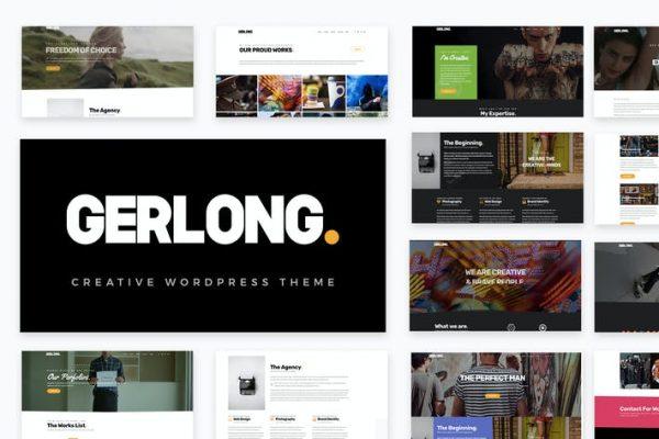 Gerlong -  Duyarlı Bir Sayfa ve Çok Sayfalı Portföy