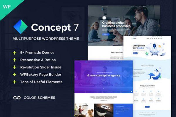 Concept 7 -  Çok Amaçlı Tema