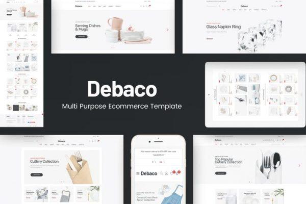 Debaco -  WordPress Teması için mutfak aletleri