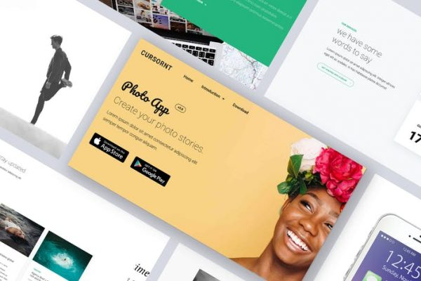 Onepage Multipage Business Agency - Cursornt