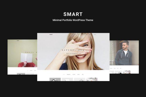 Smart -  Minimal Portföy WordPress Temasısı