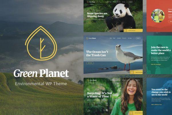 Ecology & Environment WP -  Yeşil gezegen