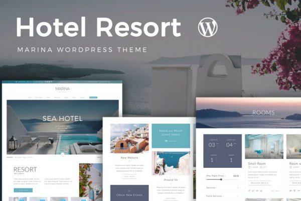 Resort Hotel WordPress Teması