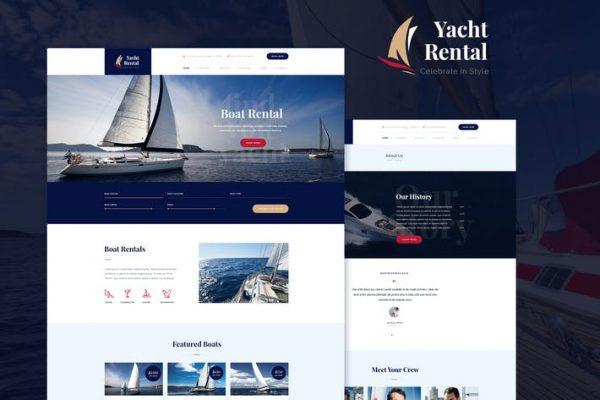 Yacht Rental Teması