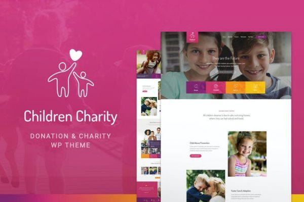Children Charity -  Kâr Amacı Gütmeyen Kuruluş ve STK WordPress Temasısı