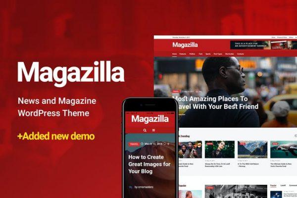 Magazilla - Haber ve Dergi Temasısı