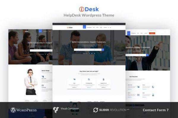 iDesk -  WordPress Temasısı