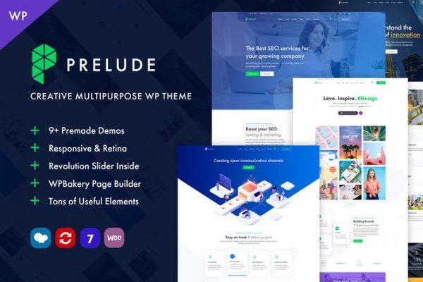 Prelude -  Yaratıcı Çok Amaçlı WordPress Temasısı