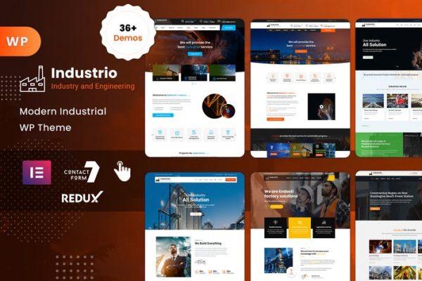 Industrial -  Endüstri ve Fabrika WordPress
