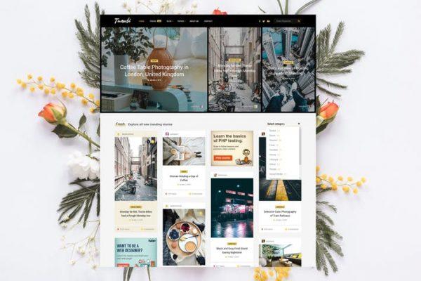 Tumli -  Kişisel Duvarcılık WordPress Temasısı