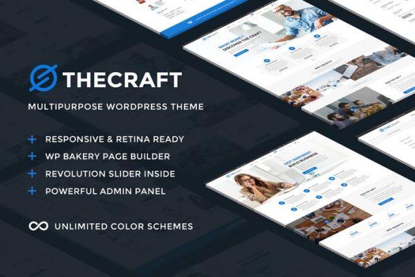 TheCraft -  Duyarlı Çok Amaçlı WordPress Temasısı