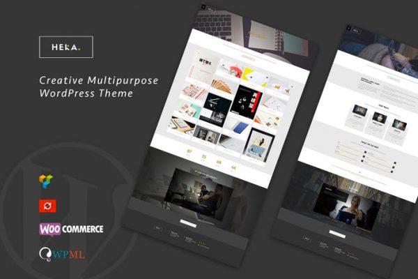 Hera - Yaratıcı Çok Amaçlı WordPress Temasısı