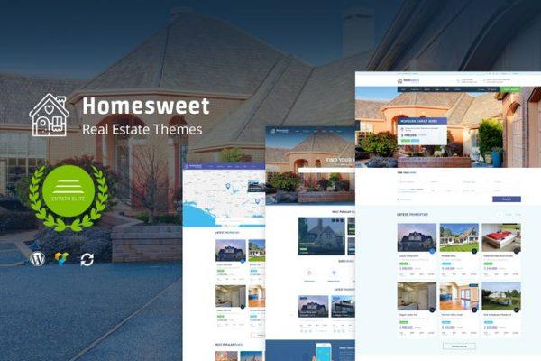 HomeSweet - Emlak WordPress Temasısı