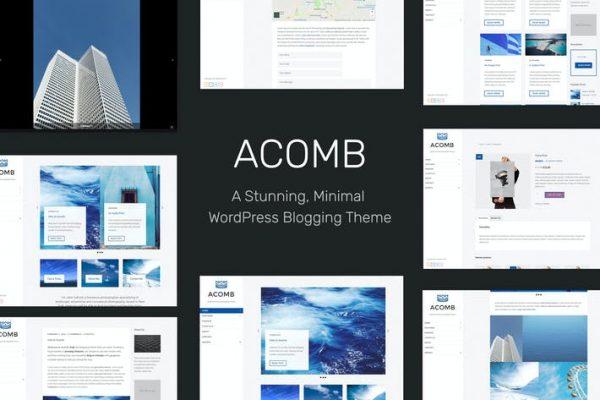 Acomb - Duyarlı Bloglama WordPress Temasısı