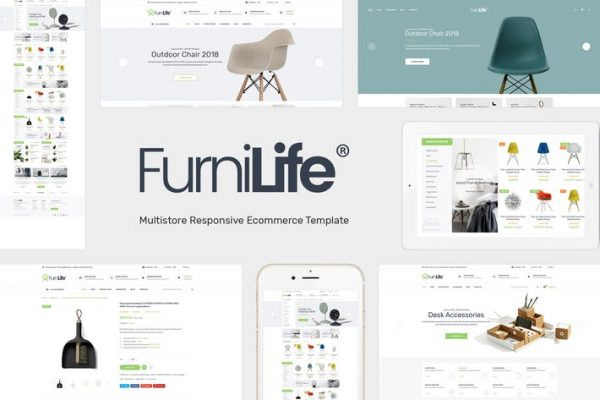 Furnilife -  Mobilya Temasısı WooCommerce WordPress
