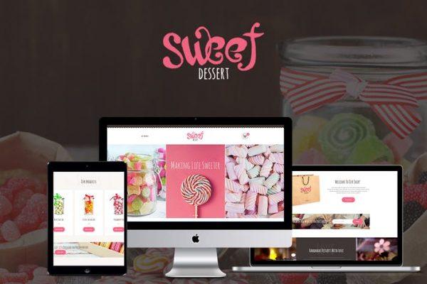 Sweet Dessert Teması