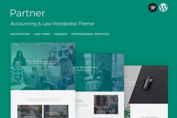 Partner -  Muhasebe ve Hukuk WordPress Temasısı