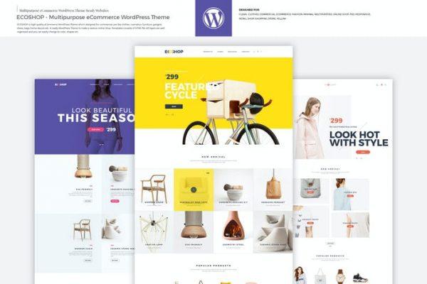 ECOSHOP -  Çok Amaçlı e-Ticaret WordPress Temasısı