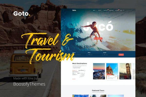 Goto - Tur ve Seyahat WordPress Temasısı