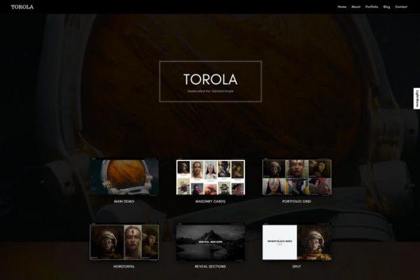 Torola Modern Photography  Teması
