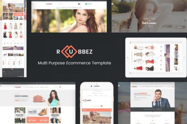 Rubbez-  WooCommerce ve Kurumsal WordPress Temasısı