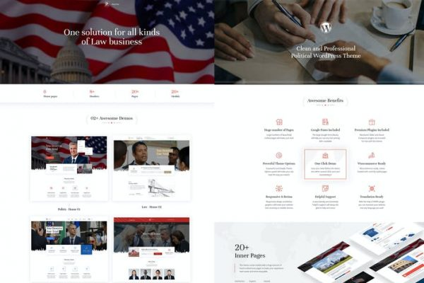 Politix -  Politik Kampanya WordPress Temasısı
