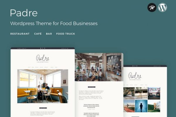 Padre -  Cafe & Restaurant WordPress Temasısı