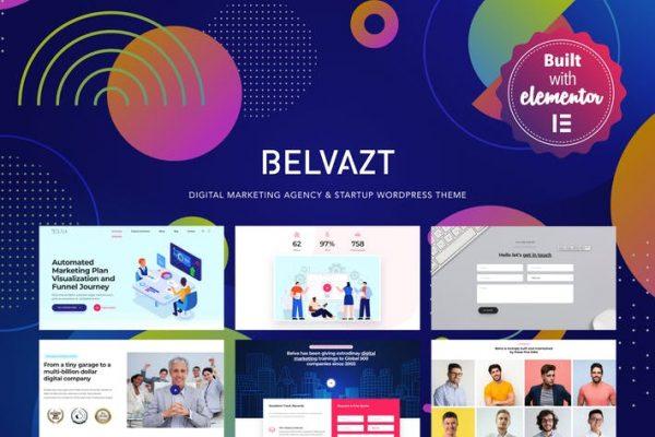Belvazt -  Dijital Pazarlama Ajansı WordPress Temasısı