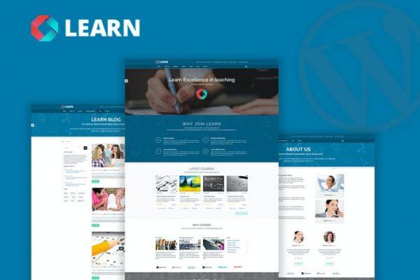 Learn - Eğitim, e-Öğrenim WordPress Temasısı