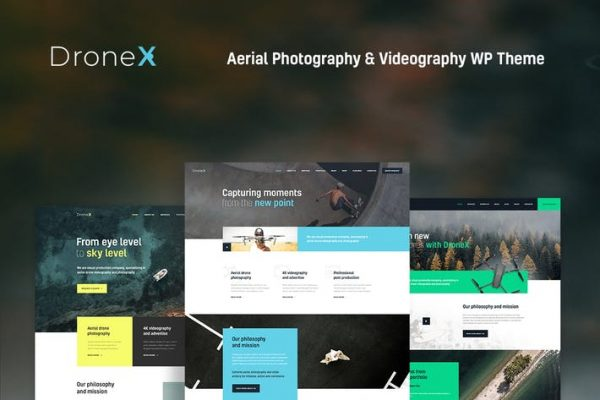 DroneX Teması
