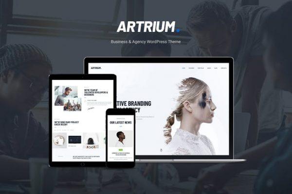 Artrium -  Yaratıcı Ajans ve Web Stüdyosu WP Temasısı
