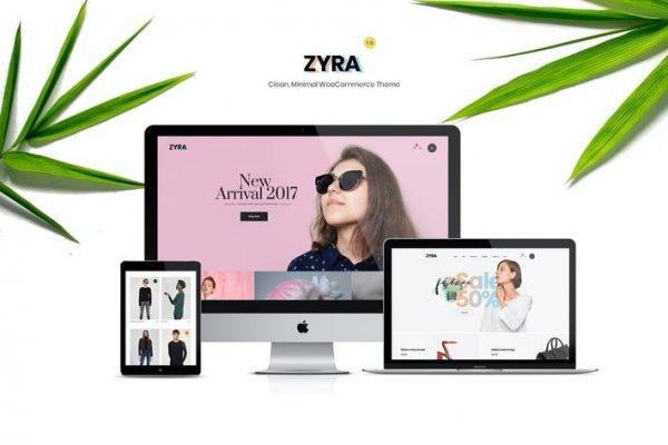 Zyra - Temiz, Minimal WooCommerce Temasısı