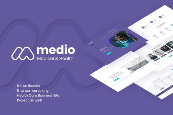 Medio - Tıbbi Organizasyon WordPress Temasısı