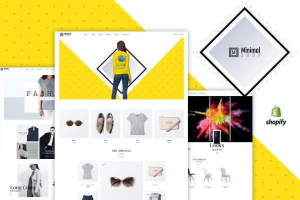 Minimal Shop - WooCommerce Mağazası